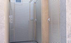 שער כניסה לבית מחולק – דגם צף 42