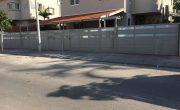שער חשמלי לבית מאלומיניום מעוצב – דגם רותם 11