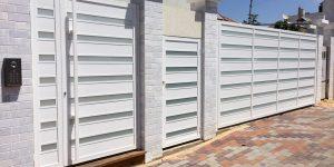 שערים חשמליים לבית פרטי מאלומיניום מעוצב - דגם רותם 15