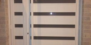 שער כניסה חשמלי לבית פרטי - שערים מעוצבים דגם רותם 24