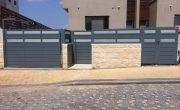 שערים לבית פרטי בעיצוב מודרני – דגם רותם 3