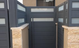 עיצוב שערים לבית פרטי – דגם רותם 4