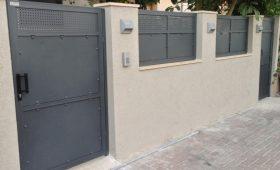 שערים חשמליים לבית פרטי עם קוד לכניסה – דגם רותם 5