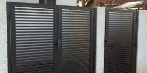 שער כניסה לחצר של בית פרטי - דגם רז 18