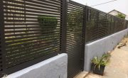 שערים וגדרות מאלומיניום איכותי – דגם רז 3