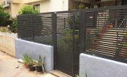 שער לחצר של בית פרטי – דגם רז 4