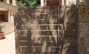 תמונות של שערים לבתים פרטיים – דגם שניר 11