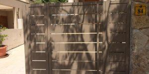 תמונות של שערים לבתים פרטיים - דגם שניר 11