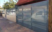 שער הזזה לחניה של בית פרטי – דגם רותם 14