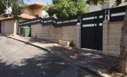 שער אלומיניום לכניסה של בית פרטי – דגם רותם 17