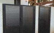 שער כניסה לחצר של בית פרטי – דגם רז 18