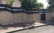שערים לבתים פרטיים מאלומיניום – דגם רותם 19
