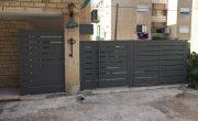 עיצוב שערים חשמליים לבית פרטי – דגם שניר 2