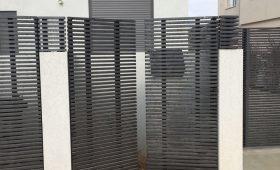 שער מעוצב לכניסה של הבית – דגם צף 3