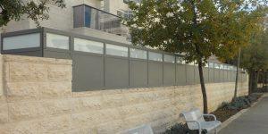 גדרות מעוצבות לבית פרטי - דגם רותם 3