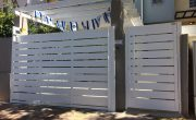 תמונות של שערים לבתים פרטיים – דגם שניר 3